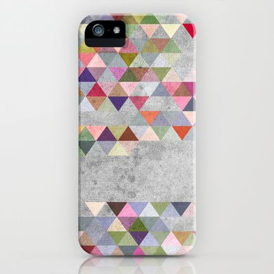 Colorful 1 iPhone Case by Mareike Böhmer - $35.00