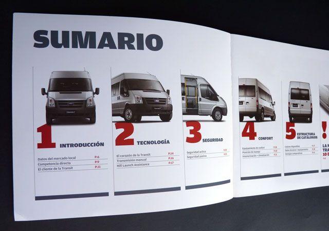 Ford - Imagen institucional  Nos ocupamos de la dirección de arte, diseño y diagramación de los Sourcebook del Nuevo Ford Fiesta y del Ford Transit. Este trabajo lo desarrollamos para Annik Media Makers.