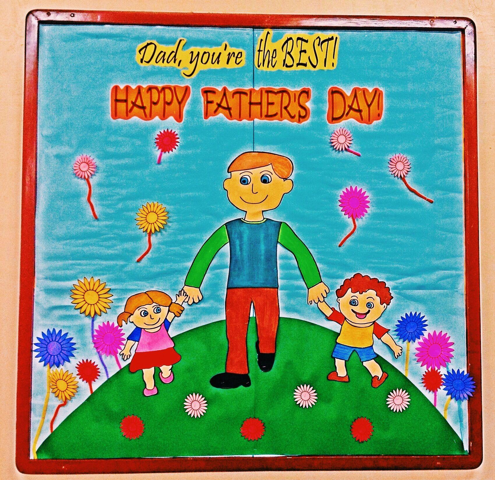 Father S Day Bulletin Board