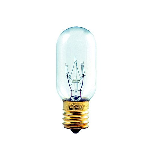 Bulbrite 25t8n 25 Watt Incandescent T8 Tube Intermediate Base Clear 50 Bulbs Incandescent Specialty Lighting Bulbrite