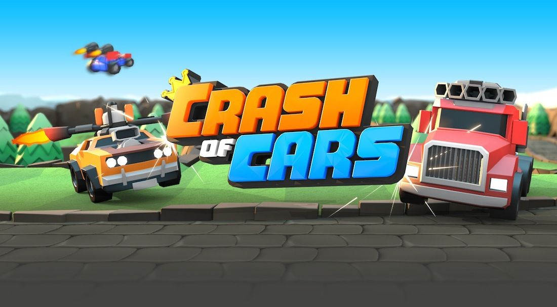 Batallas de coches en Crash of Cars, próximamente en iOS y Android