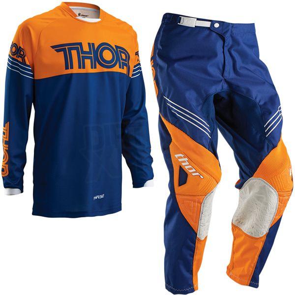 Thor Mens /& Youth Navy Blue//Orange Phase Hyperion Dirt Bike Jersey MX ATV 2016