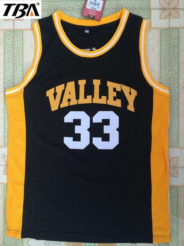size 40 f83d6 fb021 TBA black movie Indiana VALLEY 33 LARRY BIRD jersey ...