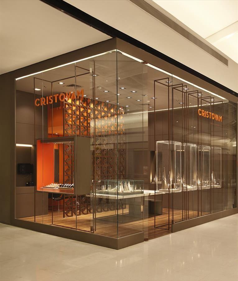 2d03714beca Cristovam Joalheria | Galeria da Arquitetura | Ambientación | Loja ...