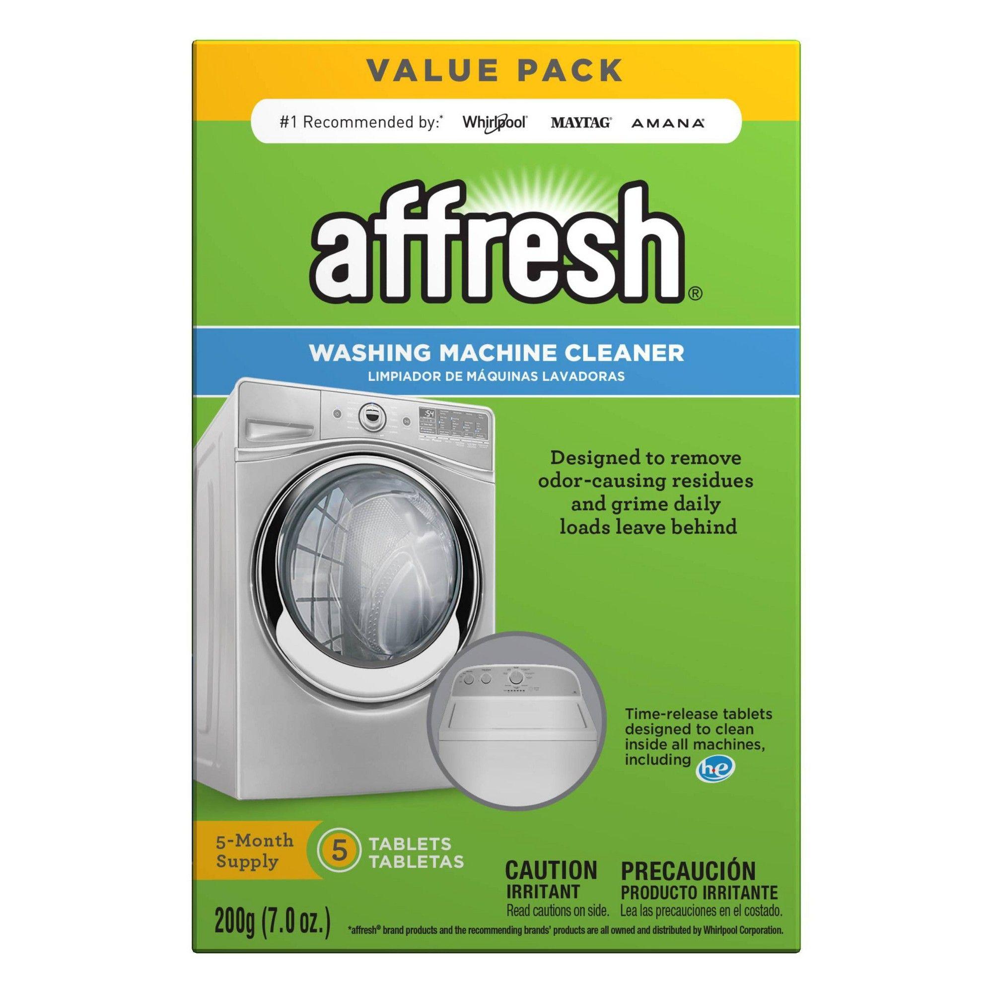 Affresh Washing Machine Cleaner 5ct Washing Machine Cleaner Washing Machine Washer Cleaner