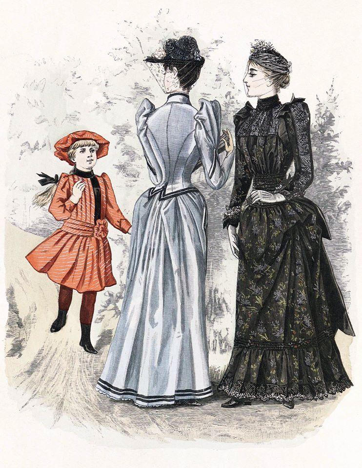 1890 Fashion In Scandinavia Victorian Fashion Historical Fashion Fashion Prints