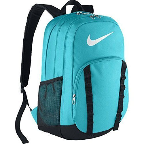 Nike Brasilia 7 Backpack XL Omega BlueBlackWhite Backpack Bags *** Click image to review more details.