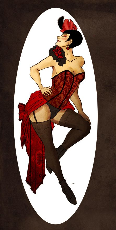 Burlesque show off by Stumppa.deviantart.com on @DeviantArt