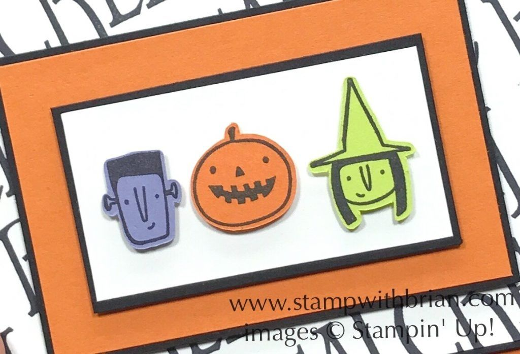 Creep it Real, Stampin\u0027 Up!, Brian King, Halloween card 2017 - halloween catalog