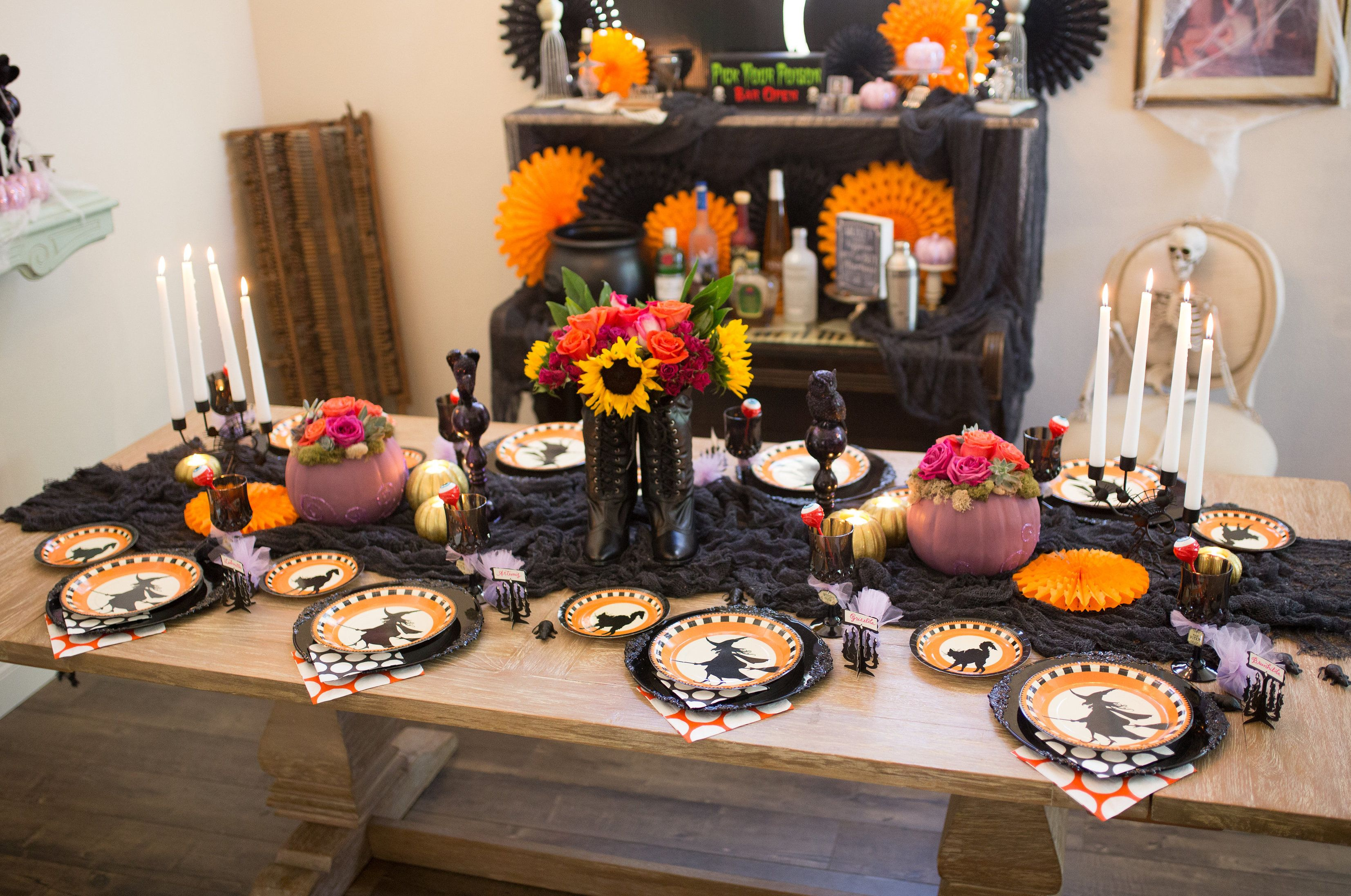 witch themed halloween party girls night halloween party ideas and witches