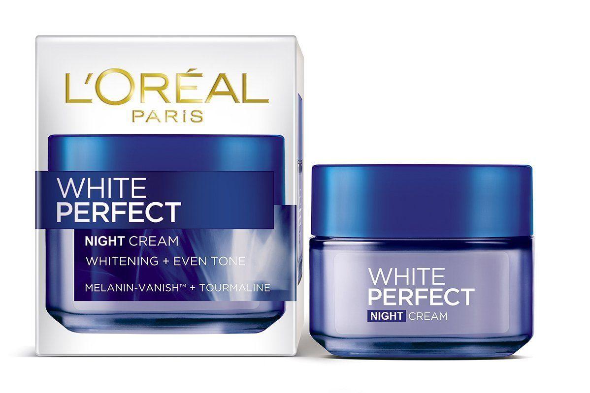 أفضل كريم لتفتيح الوجه في اسبوع و توحيد لون البشرة Loreal Paris Night Creams Best Lightening Cream