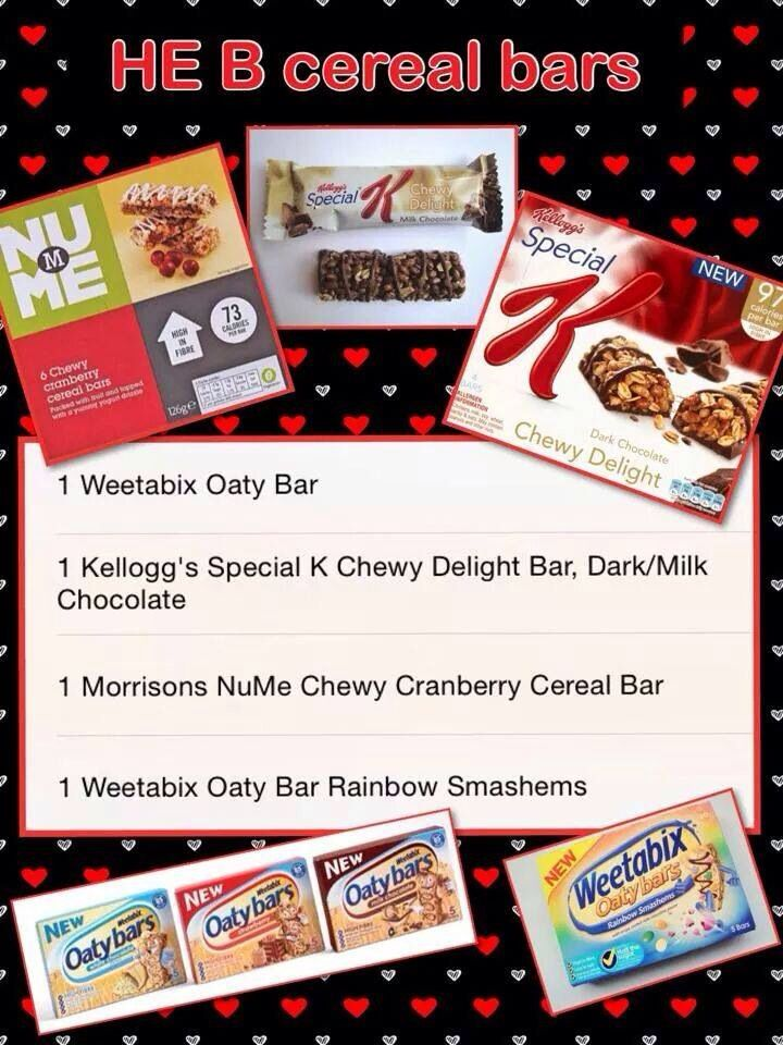 Up To Date Info On Which Cereal Bars Can Be Used For A
