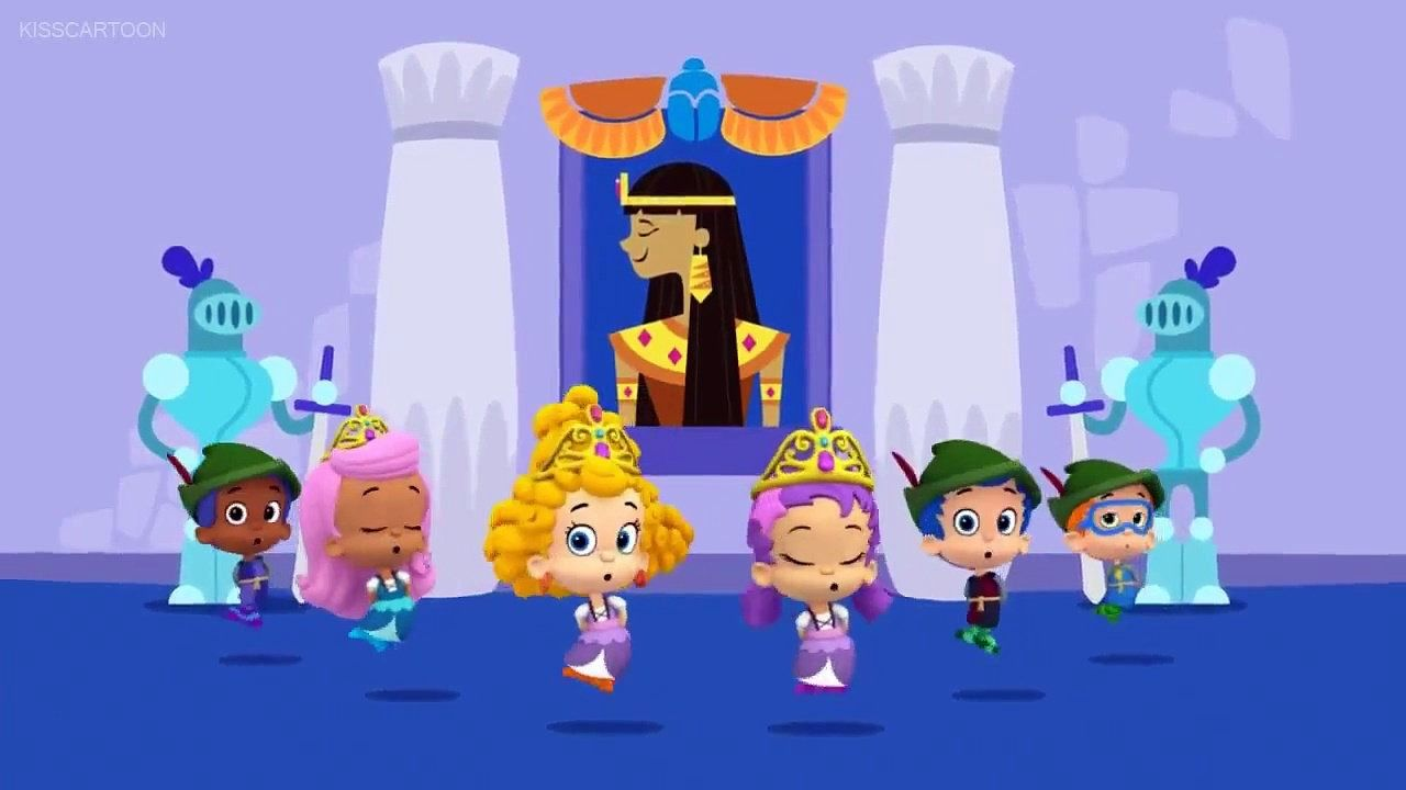 bubble guppies so you want to be a princess video nick jr