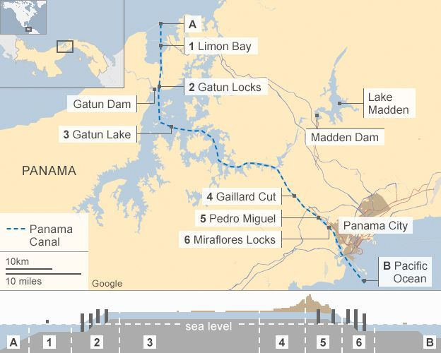 Drought to cut Panama ship draft | News-History-Biblical_Prophecy ...