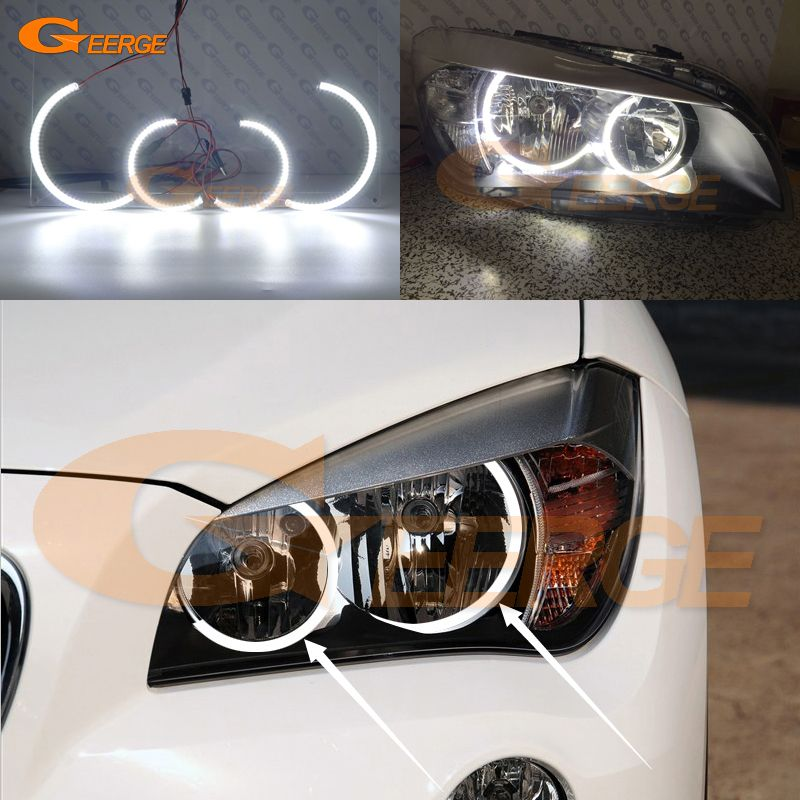 Find More Car Light Assembly Information About For Bmw X1 E84 2010 2011 2012 2013 2014 Halogen Headlight Ultra Bright Ill Halogen Headlights Led Angel Eyes Bmw