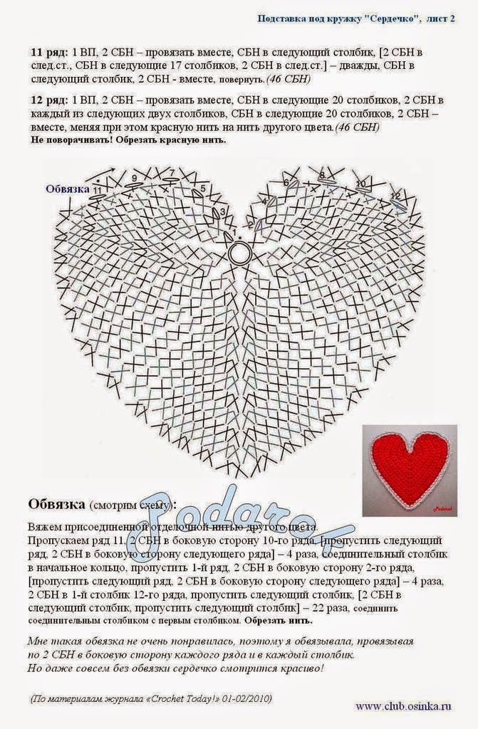 Idea para el día de la madre: posavasos con forma de corazón con ...