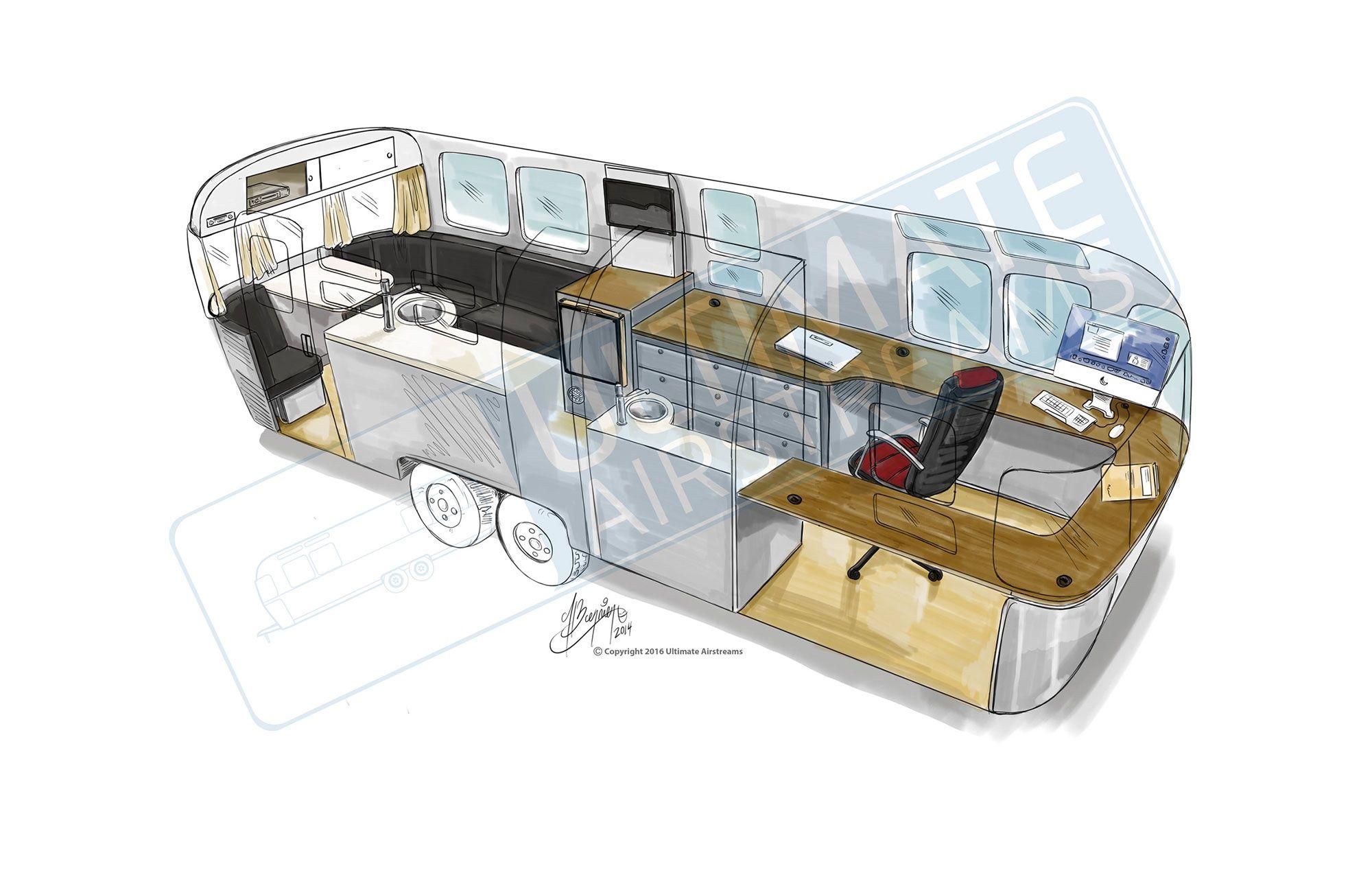 Airstream, Office Hacks