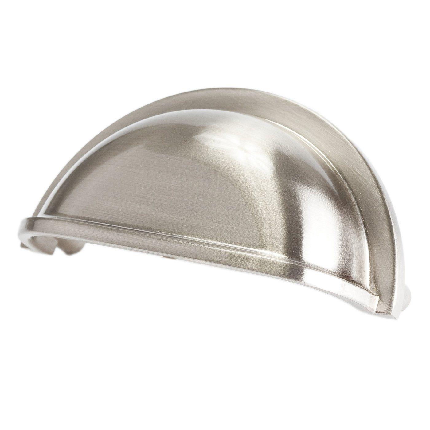 Brushed Nickle Pulls Cabinet Hardware Brushed Nickel Brushed Nickel Cup Pulls Brushed Nickel Drawer Pulls