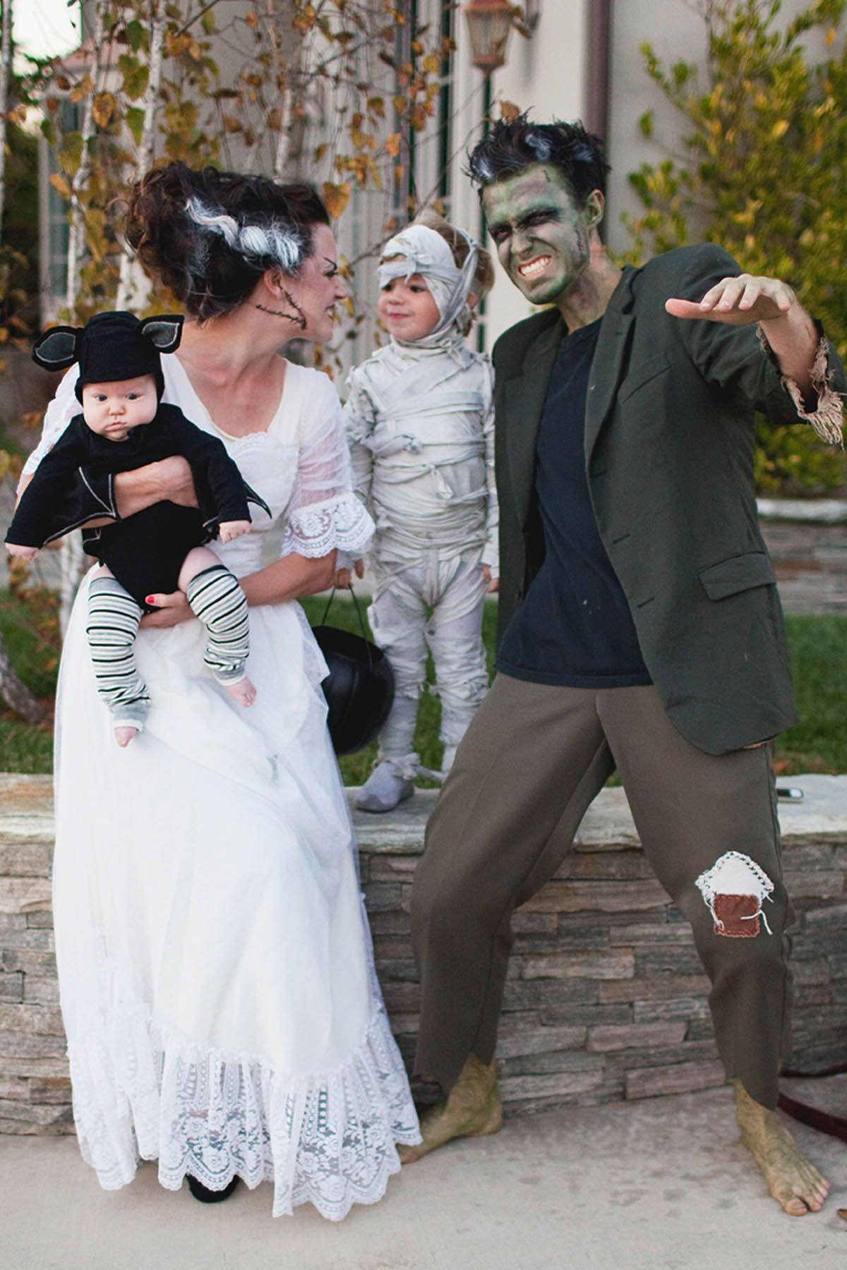 of the cutest family halloween costumes ever monster characters