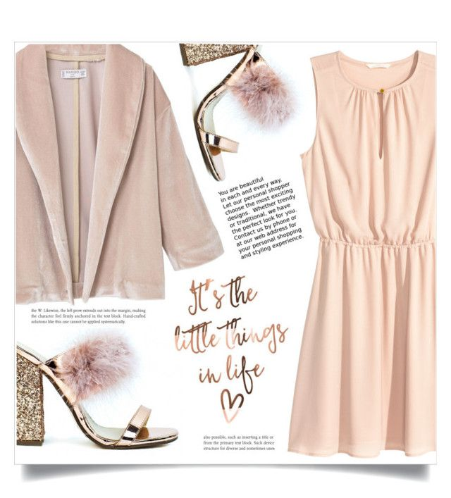 """The little things in Life"" by dolly-valkyrie ❤ liked on Polyvore featuring MANGO and H&M"
