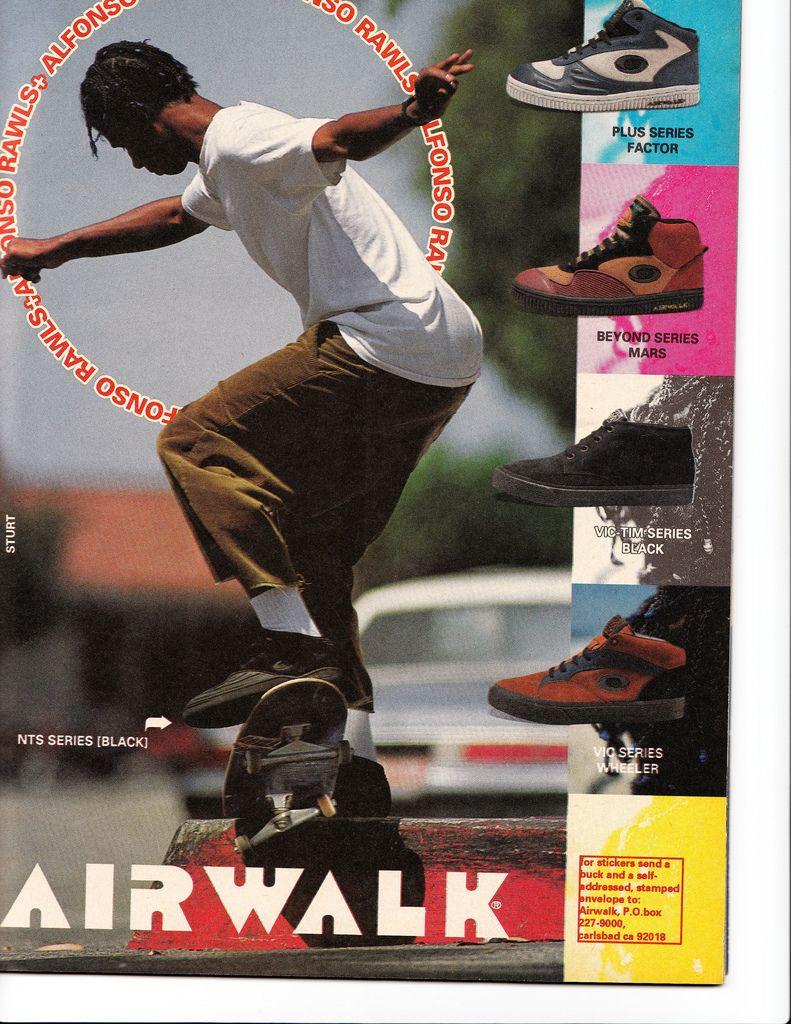 sneaker ads Airwalk, Airwalk shoes, Skateboard