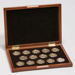 COIN SAFE- Made in America TEN 10 SMALL DOLLAR SQUARE Coin Tubes