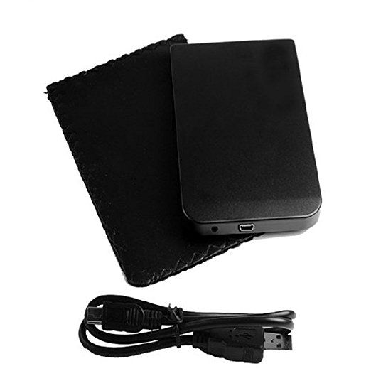 "JSG Accessories® 2.5"" SATA HDD ENCLOSURE CASE CADDY FOR LAPTOP, PC XP, VISTA, Windows 7, Windows 8, MAC in BLACK colour"