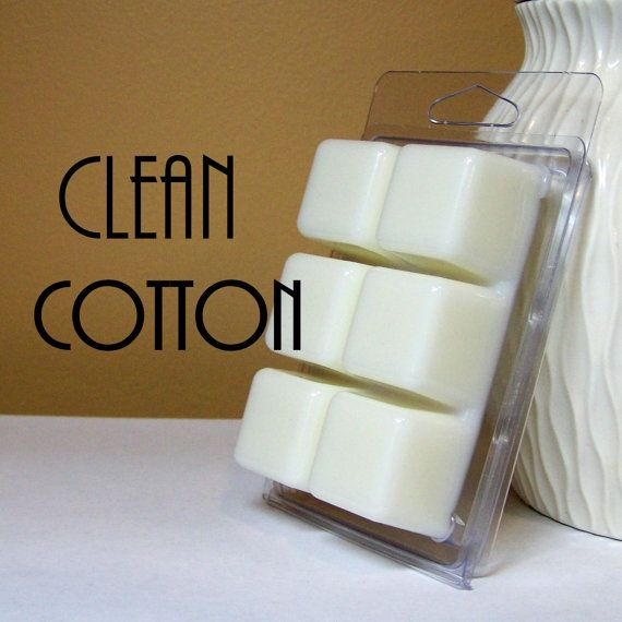 Clean Cotton Scented Wax Cubes
