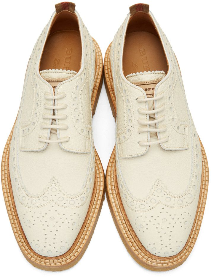 Burberry - Off-White Burroughs Brogues  584fb9a02d27