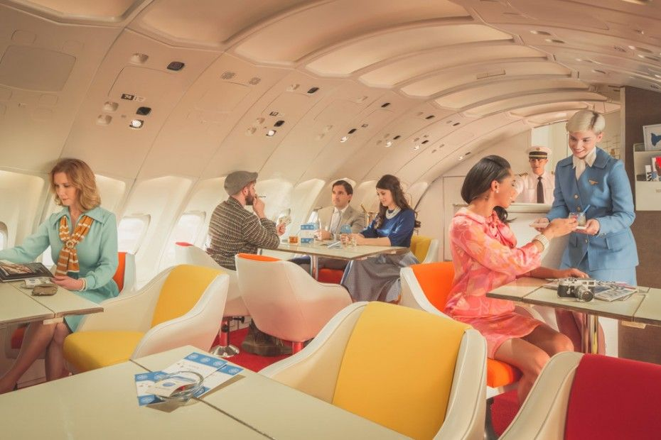 Image result for boeing 747 interior 1970 pan am air