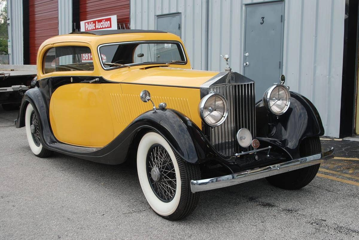 1935 Rolls-Royce 20/25 Gurney Nutting Pillar-less Coupe - Image 1 of 9