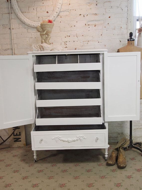 Lingerie Chest. Just Like The Slide Out Drawers At Victoriau0027s Secret, You  Can Fit
