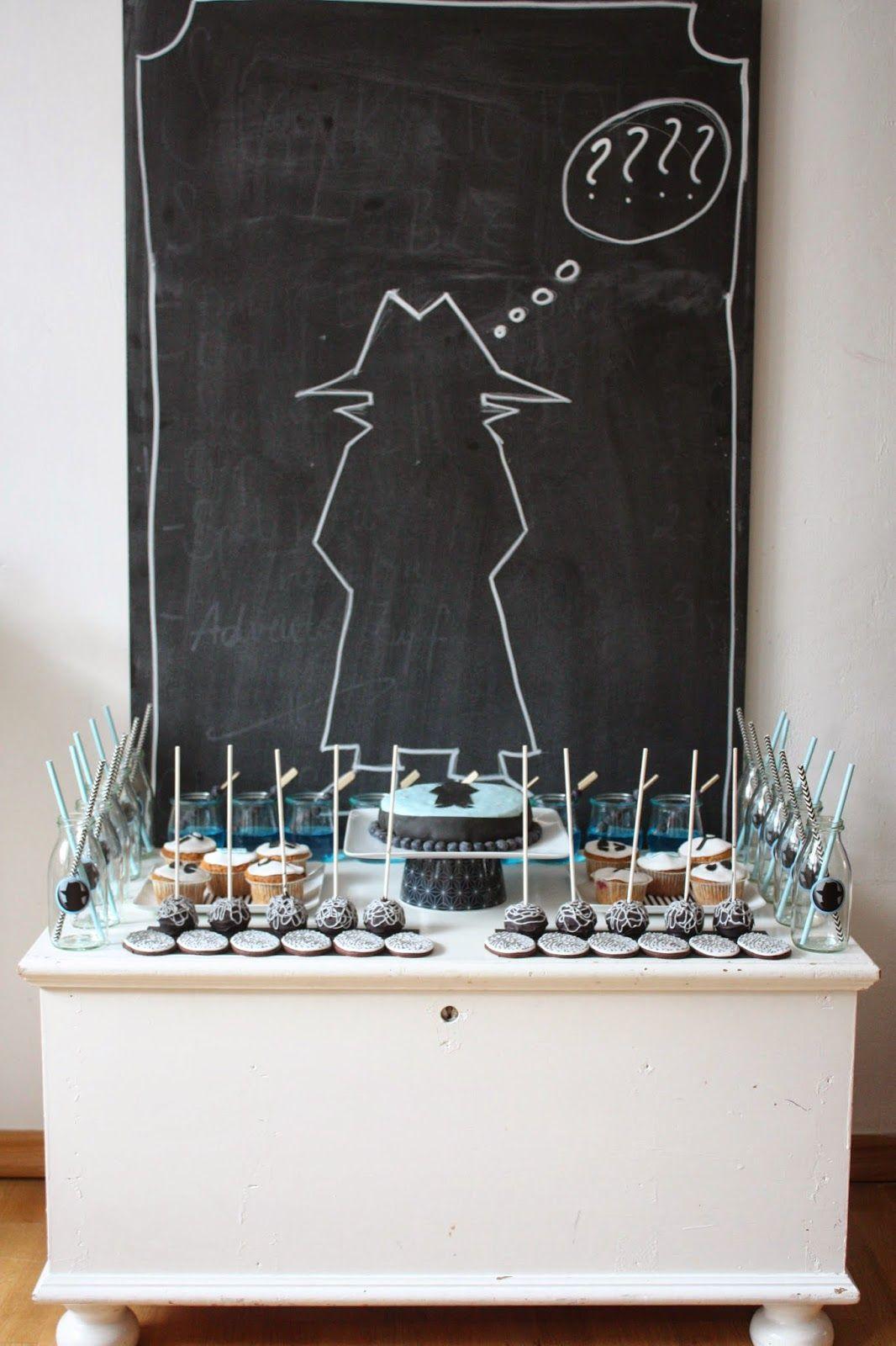10 kleine schn ffler detektiv party. Black Bedroom Furniture Sets. Home Design Ideas