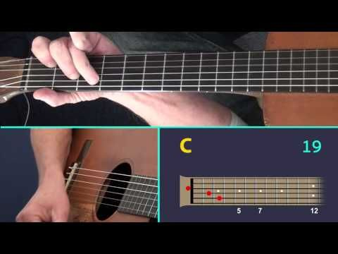 Killing Me Softly A Fingerstyle Guitar Lesson Showing The Virtual