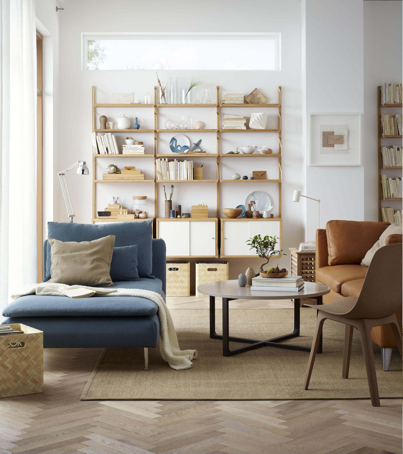 SÖDERHAMN Chaise longue, Finnsta turkoois - Chaise longue, Zen en Ikea