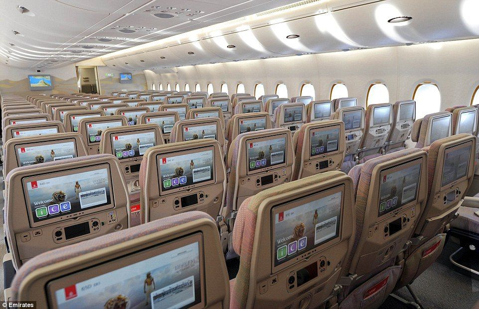 Wow Emirates Unveils New Airbus A380 With A Record 615 Seats