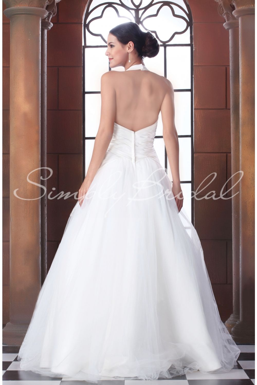 Back of Kyra Gown