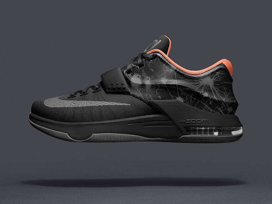 Nike KD 7 N7 Dark Turquoise Metallic Gold Black