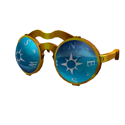 Steampunk Compass Glasses A Hat By ROBLOX