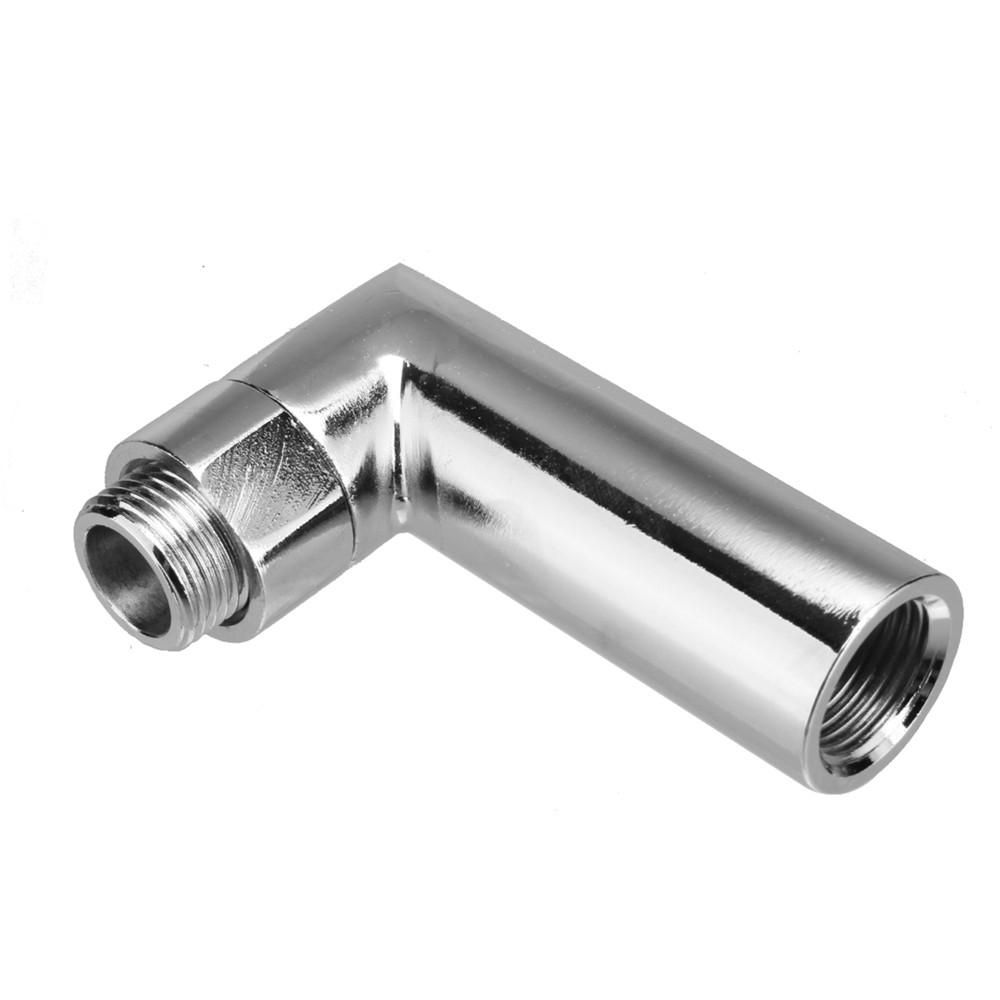 90 Degree M18 X 1.5 O2 oxygen sensor angled extender spacer 02 bung extension