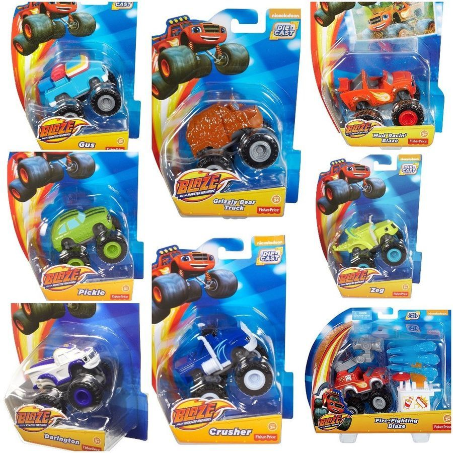 Details About Fisher Price Nickelodeon Blaze And The Monster