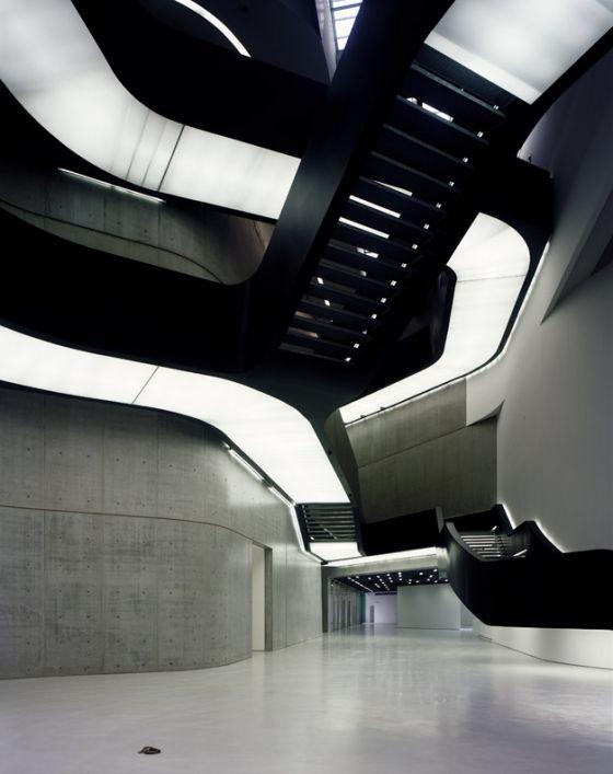 Contemporary Arts Centre Maxxi Rome By Zaha Hadid Architects