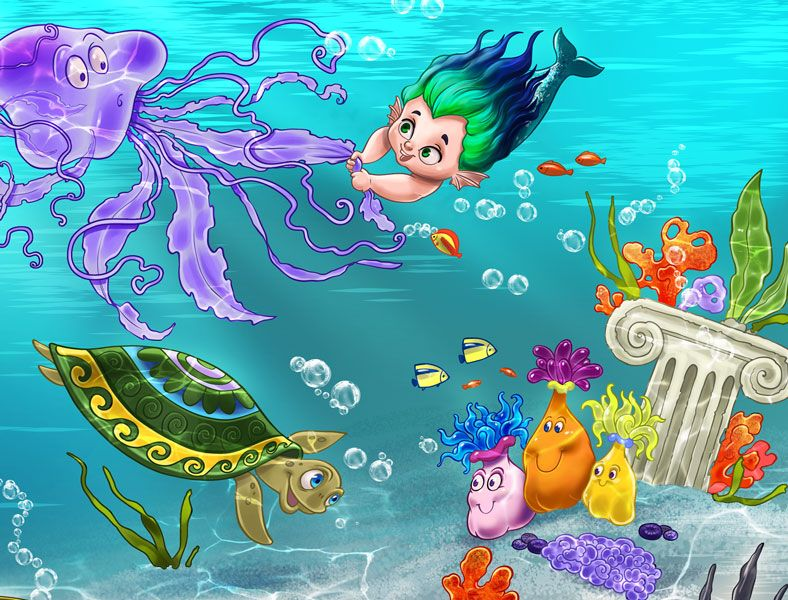 картинки сказки подводный мир ростом популярности видеоблогов