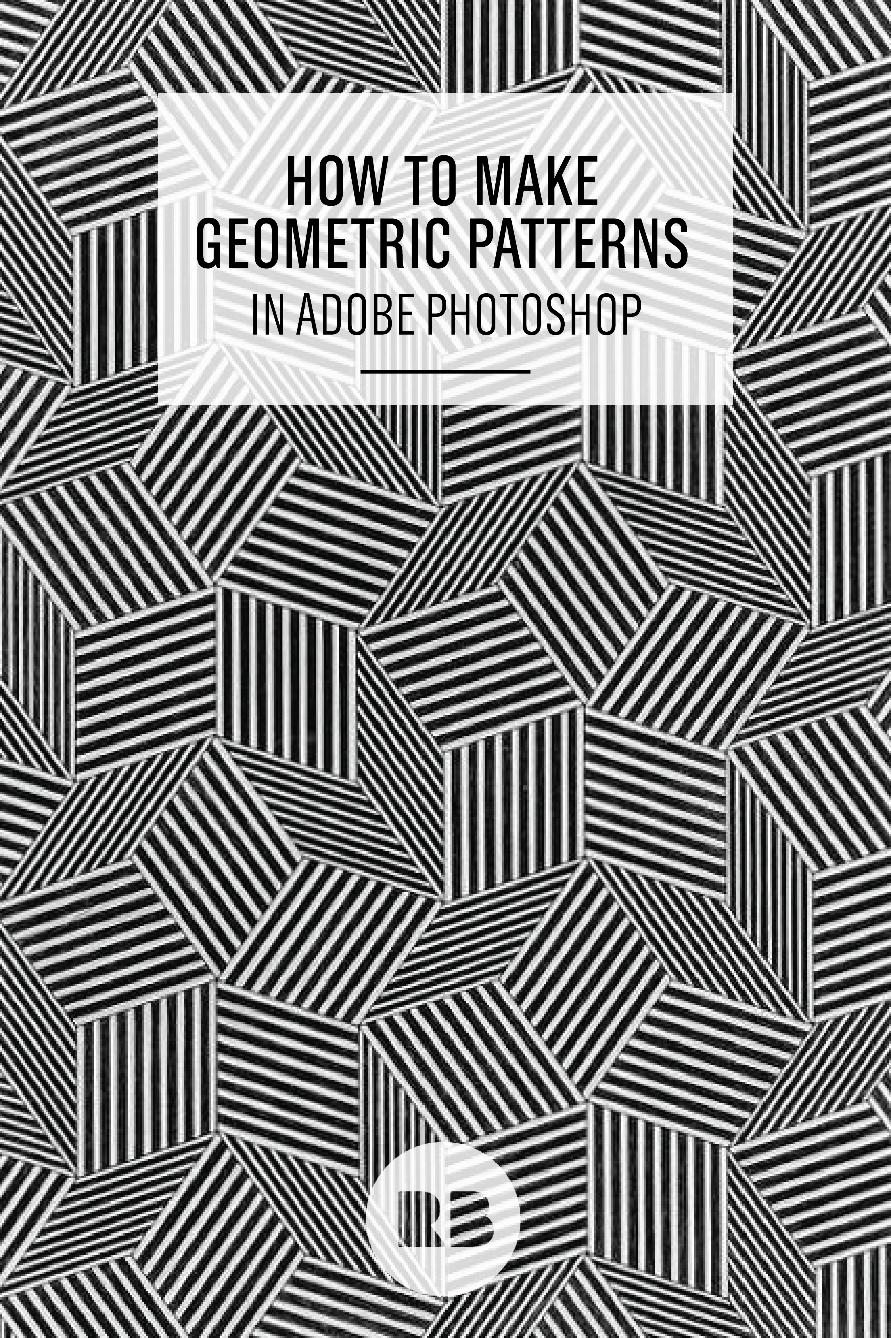 How To Make A Geometric Pattern In Illustrator