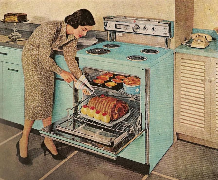 Emejing Cucine Americane Anni 50 Pictures - ubiquitousforeigner.us ...