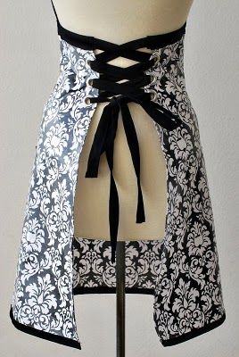 This apron is so cute that I might have to take a cooking class, just so I can legitimately buy this.