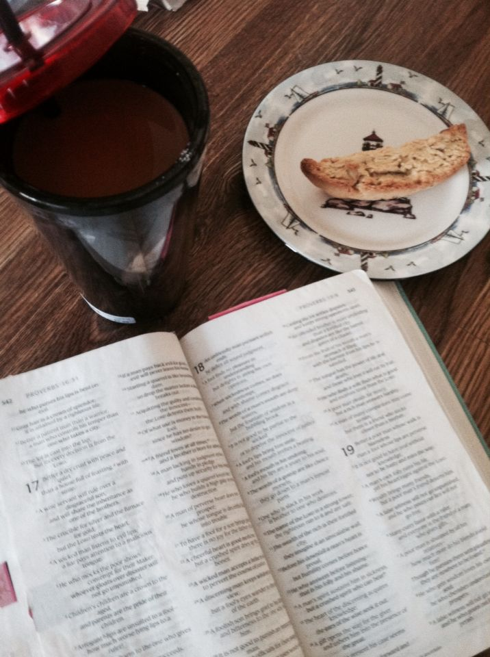 http://wp.me/p3cJuH-Gi bible, coffee, and a good morning