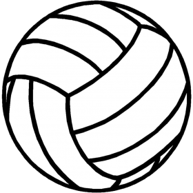 Alphabetical Volleyball Clip Art Volleyball Clipart