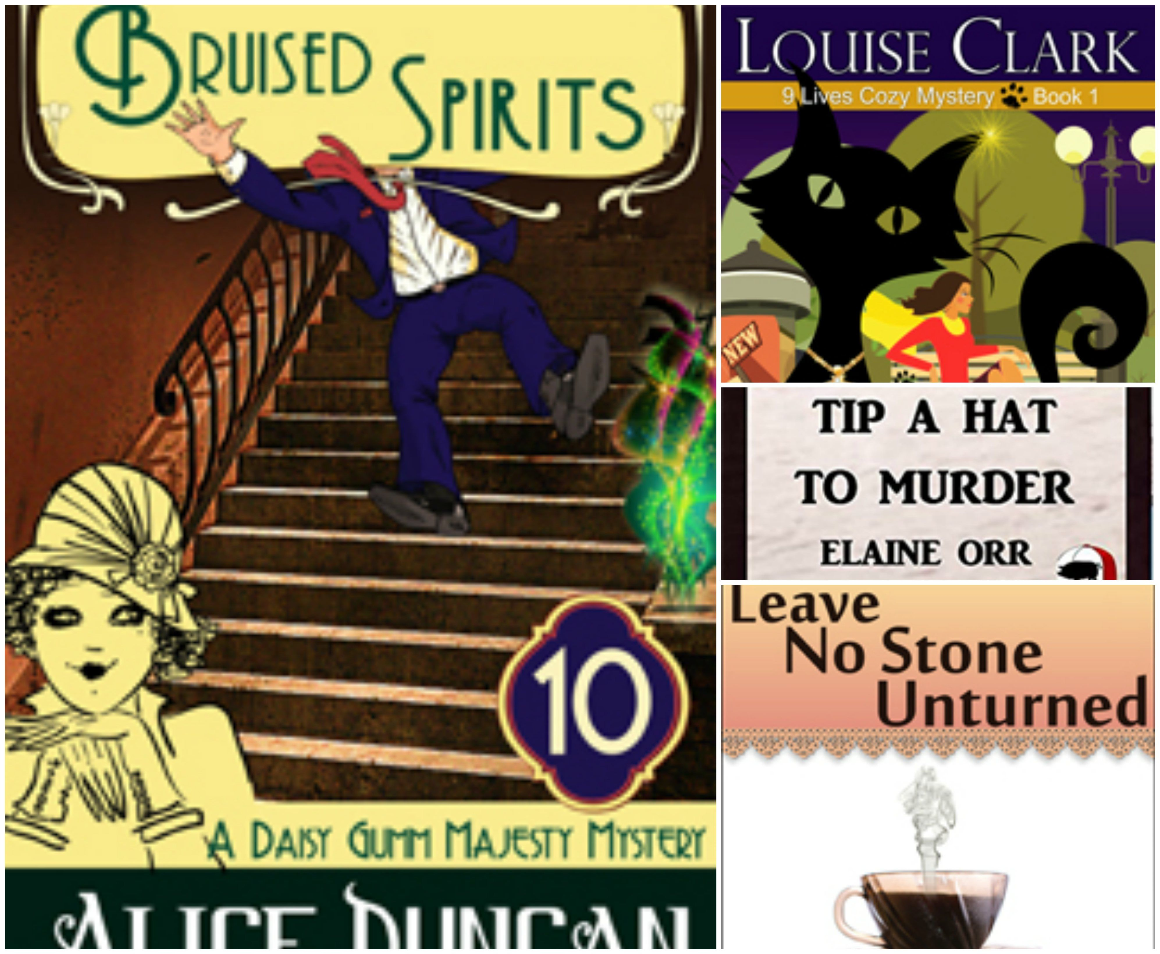 Get 4 fulllength Cozy Mystery eBooks for FREE