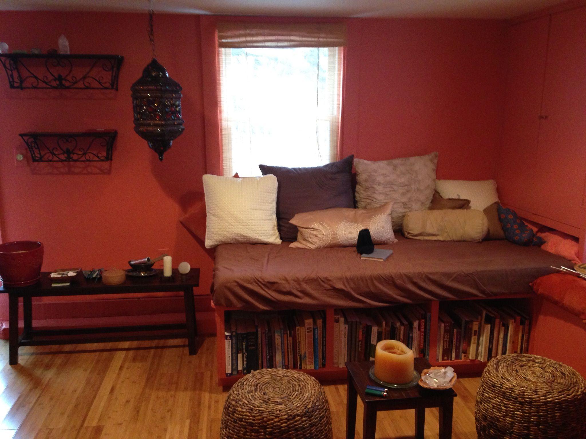 Meditation room for the home pinterest for Small meditation room